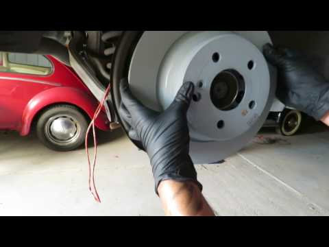How to replace Rear Brakes on a 2006 Mercedes Benz E350