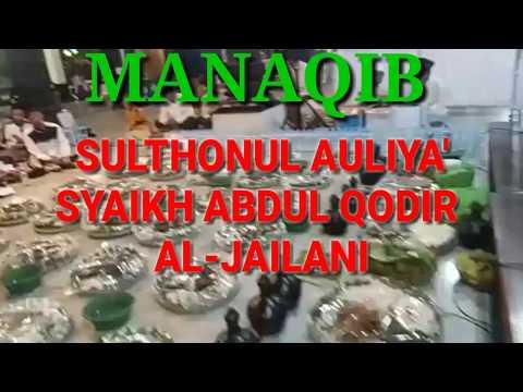 Sholawat Sebelum Manaqib Kubro Syaikh Abdul Qodir Al Jailani