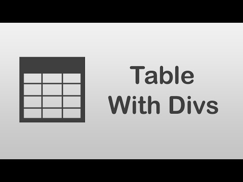 [ Arabic Tutorials ] How To Create Table With Divs