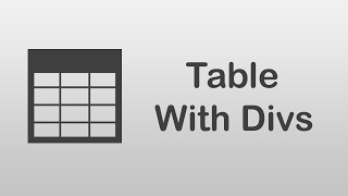 arabic Tutorials  How To Create Table With Divs
