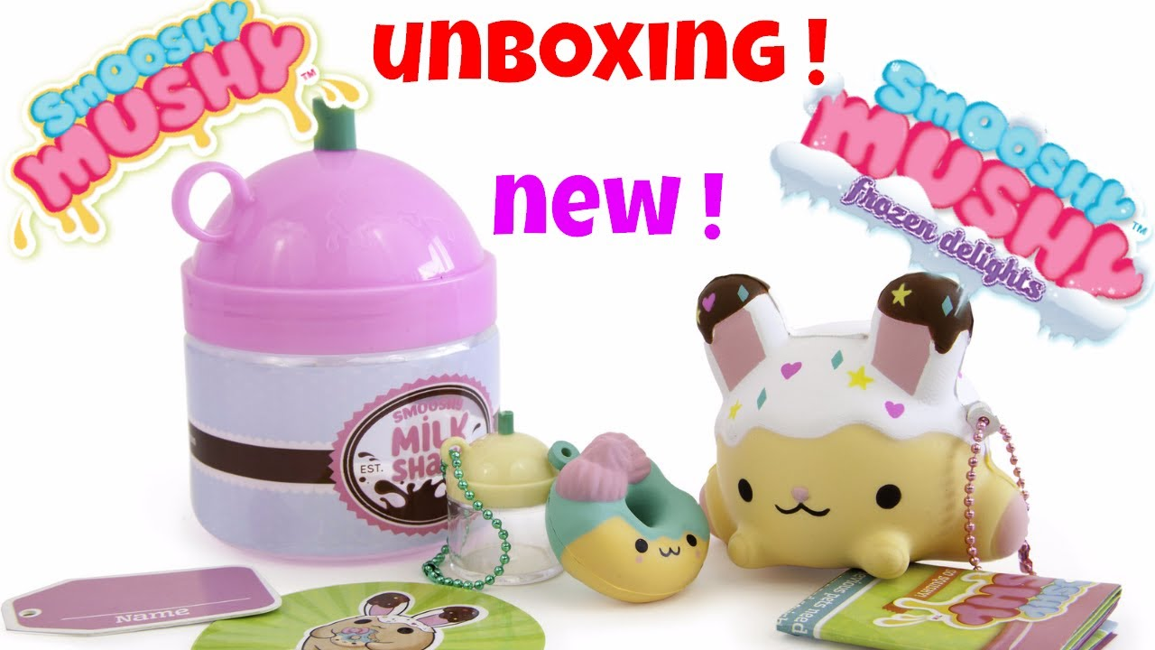 Smooshy Mushy Blind Bags Opening Surprise Toys Review Opening Fun Bento Box - YouTube