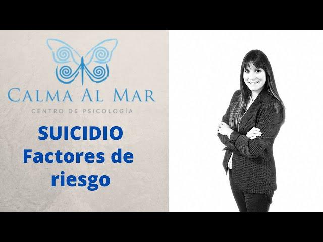 Factores de riesgo de suicidio
