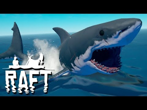 RAFT Vollversion Gameplay German - Hai und Wissenschaft verb