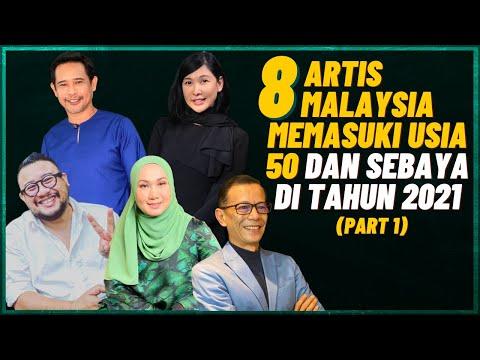 8 Artis Malaysia Memasuki Usia 50 Tahun Dan Sebaya Di Tahun 2021 #1