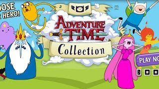 Adventure Time Game Collection Walkthrough Gameplay