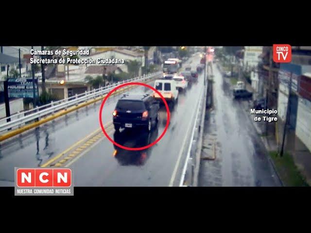 CINCO TV - BUSCADOR: conducía una camioneta robada, intentó escapar y fue detenido por el COT