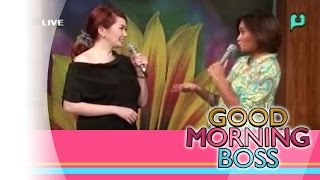 [Good Morning Boss] Panayam kay Michelle Ortega [07|09|15]