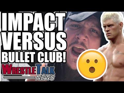 Sasha Banks INJURED! IMPACT Wrestling Vs Bullet Club ANNOUNCED!   WrestleTalk News Sept. 2018