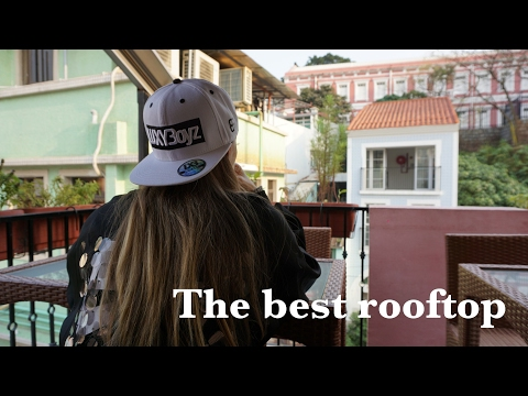 Looking for the best rooftop cafe in Taipa, Macau