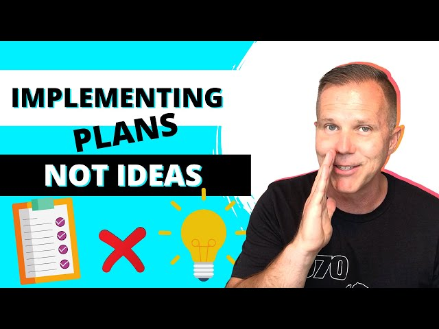 Episode 17 | Implementing Plans Not Ideas | Leadership in a Nutshell Podcast