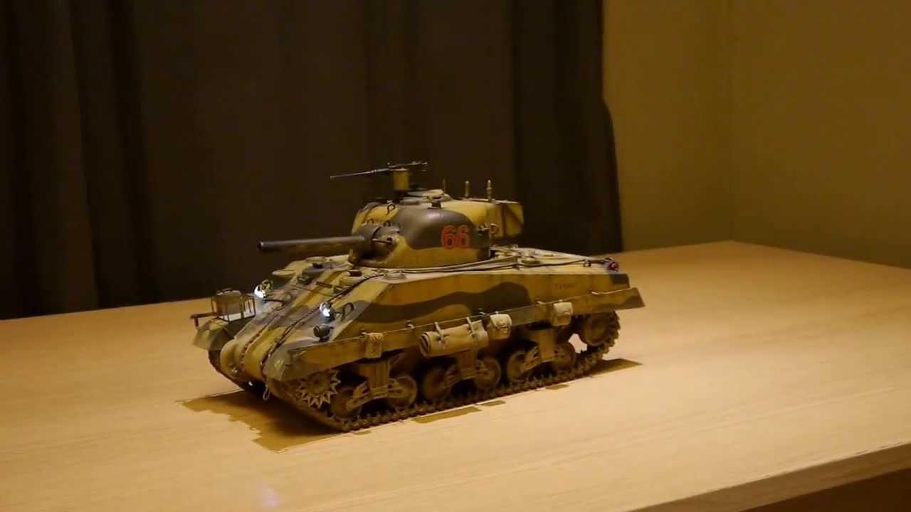 1 16 Rc Custom British Army Sherman Mkiii In North Africa