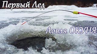 Первый лед 2020 2021 Рыбалка на Безмотылку и Балансиры Ловля окуня