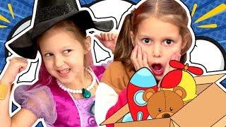 - Делимся Челлендж Share Toys challenge Куда Увозят ИГРУШКИ Амельки Карамельки Маленькая Ведьмочка