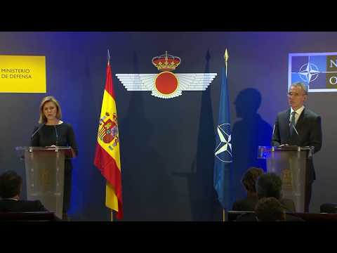 NATO Secretary General with the Minister of Defence of Spain, 25 JAN 2018, Part 2 of 2