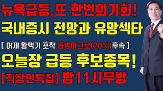 [주식][ 6월 22일 증시전망]뉴욕증시급등이유/초보,…