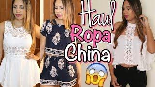 Haul ROPA CHINA: Encontré la MEJOR Tienda?!?! | Mirianny