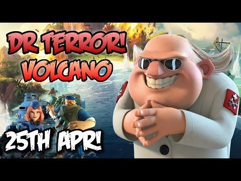 Boom Beach - SO MANY CRYSTALS ON TERROR! [25th April] Dr.Terror VS Grenadiers + Tanks!