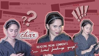 Reading MEAN COMMENTS while cooking Tinola | #SenoritaJessyIsInLove