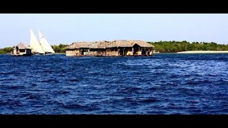 Trip to Lamu Floating Bar and Restaurant located mid of Indian ocean withCapt Kassim,nice experience