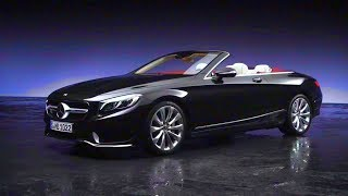2018 Mercedes-Benz S-Class Cabriolet And Coupé Trailer