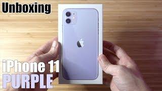 แกะกล่อง iPhone 11 สีม่วง สวย!!! ( unboxing ) | Q Taymee