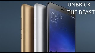 How To Unbrick Fully Dead Redmi Note 3 {DEEP FLASH} (No Fastboot) Works 100000%