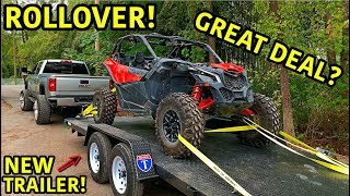 Rebuilding A Wrecked 2019 Can-Am Maverick X3 Turbo