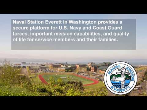 Video Tour: Naval Station Everett Quality of Life and Family Services Located On Base