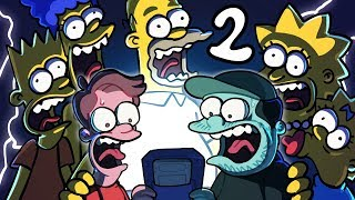 Simpsons Treehouse of Horror - EP 2: God Hates Peas | SpookyMega