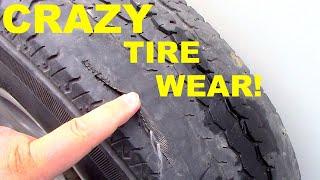 (CRAZY) Trailer Tire Wear & Ne…