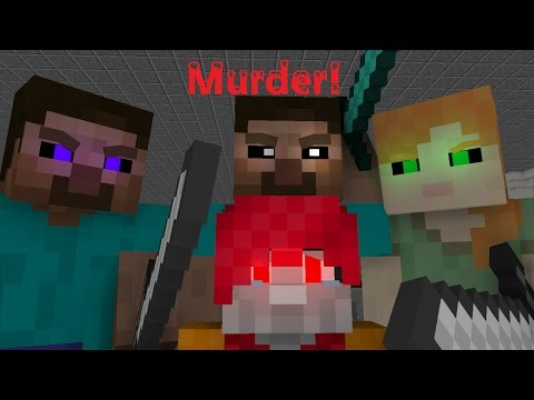MINECRAFT MURDERS! (Minecraft Animation/ Music Video) - Murder! by BoyInABand Ft. Minx and Chilled