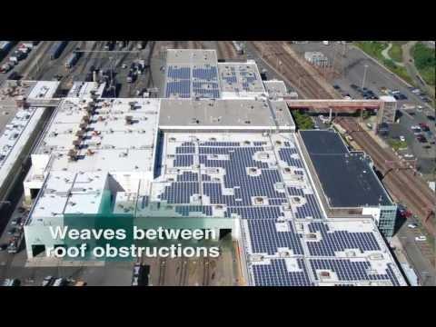 Genmounts Ballasted Solar Racking System