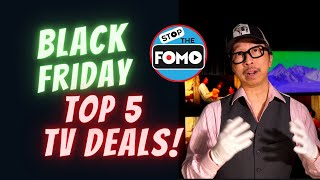 Top 5 Black Friday TV Deals LG CX, Samsung Q90T, Sony X900H and MORE