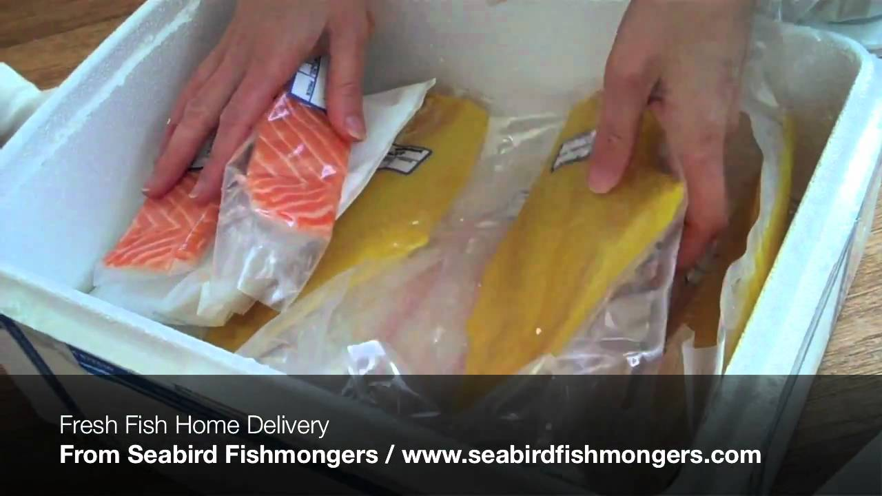 Fresh fish home delivery youtube for Fresh fish delivery