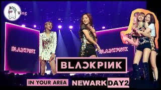 BLACKPINK in your area Newark Concert Day2 Vlog EP.1