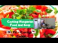 Cooking Hungarian food plus Soup l Fil-Czech Couple #cooking#dailyvlog#spicy