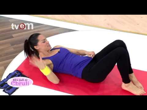 Ebru Şallı İle Pilates Egzersizleri 1.Bölüm