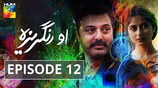 O Rungreza Episode #12 HUMTV Drama