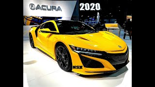 iNSANE! All New Acura Nsx, Mustang gt500 at DC Auto Show 2020