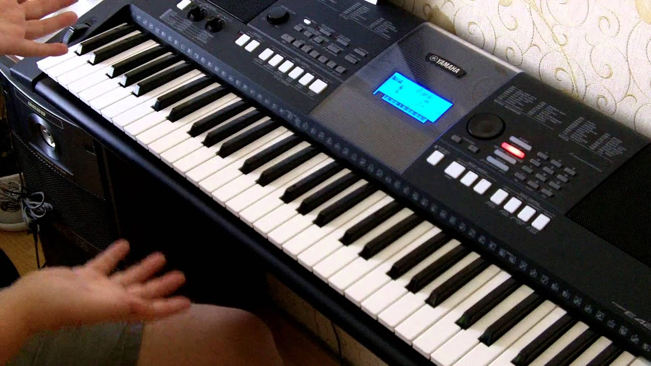 yamaha psr e423 youtube. Black Bedroom Furniture Sets. Home Design Ideas