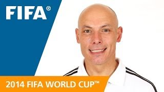 Meet howard melton webb from england. you know the players, coaches. now get to 33 referees officiating at 2014 fifa world cup™ bra...
