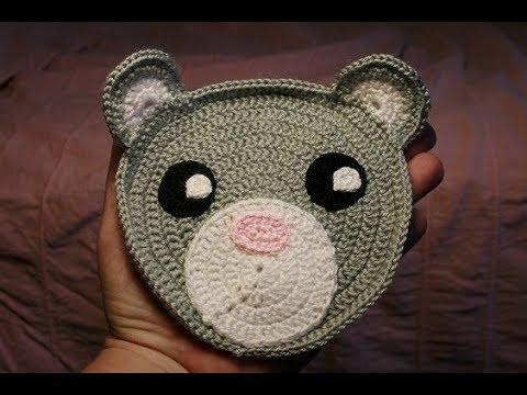 Tutorial - Crochet Pattern Bear Rug