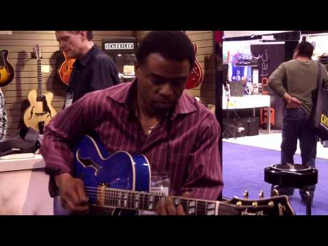 Better Days Ahead - Norman Brown @ NAMM 2013 (Smooth Jazz Family)