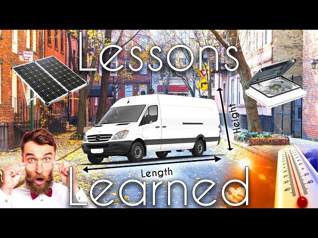 What I've Learned From 2 Years Living In A Van Full Time - VanLife Australia