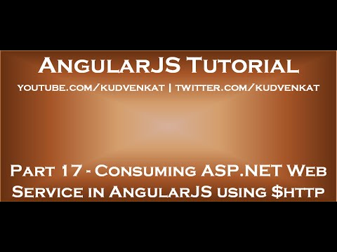 Consuming ASP NET Web Service in AngularJS using $http