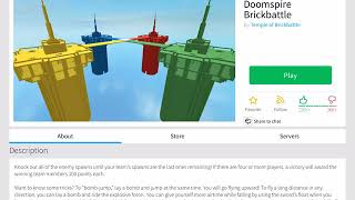 First ROBLOX video!! | Doomspire brick battle | i want alll the killlsss hahahahah!!