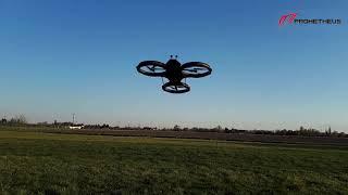 Drone Prometheus, pierwszy jego lot  ( lot techniczny )