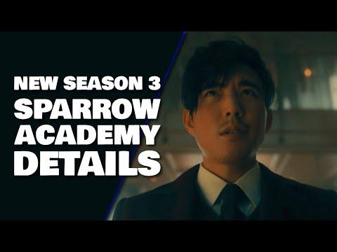 Sparrow Academy Names & Powers Revealed | Umbrella Academy Season 3