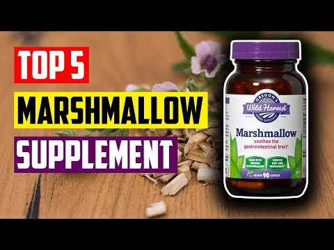 Best Marshmallow Root Supplement: Top 5 Best Marshmallow Root Herbal Supplements