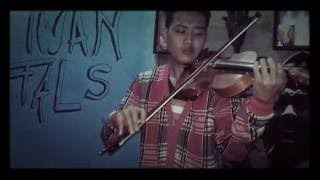 gugur bunga - instrument violin ( cover zilonk )